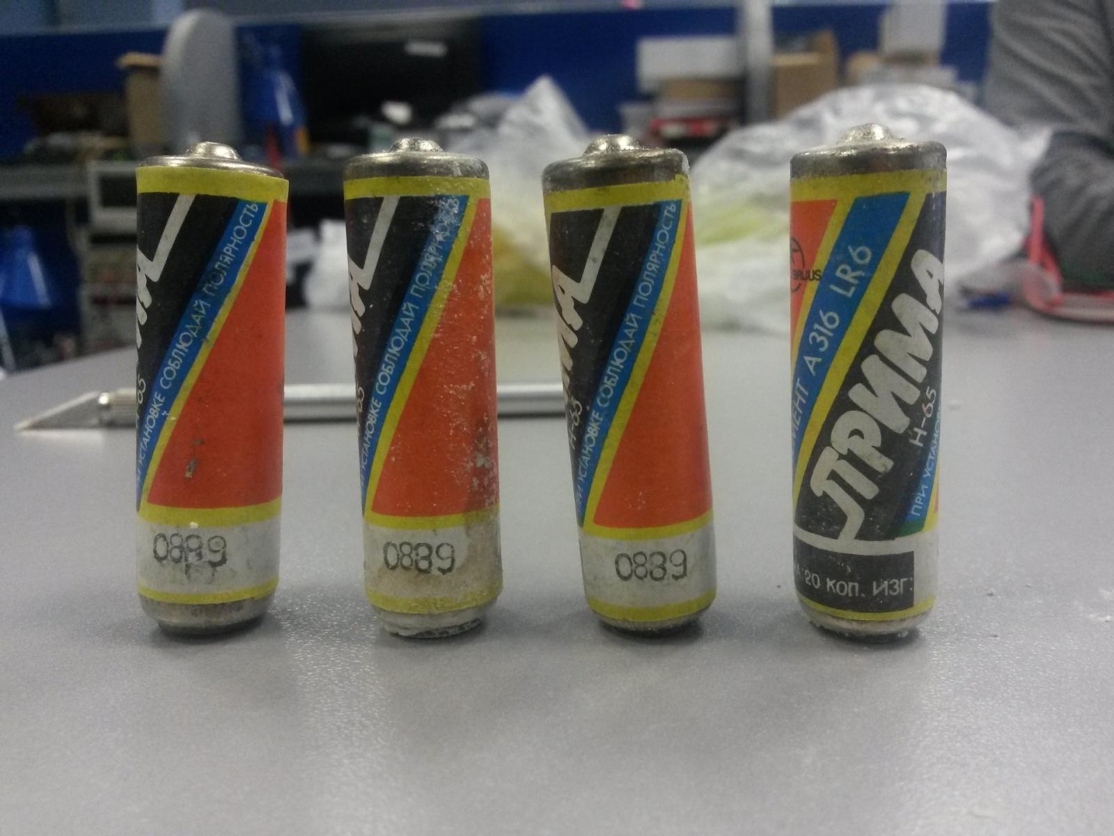 Ретро находка — батарейки «Прима» А 316 - 5