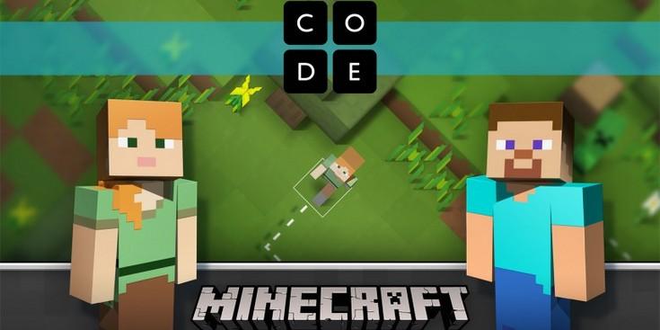 Благодаря Minecraft компания Microsoft обучит всех программированию