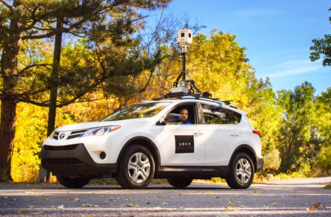 Uber может в будущем обучить своих водителей другим профессиям