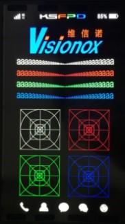 Показанная компанией Visionox панель AMOLED характеризуется высоким разрешением и относительно небольшой диагональю