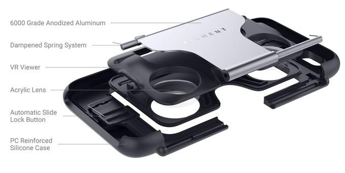 Чехол для смартфона, который раскладывается в гарнитуру VR - 3