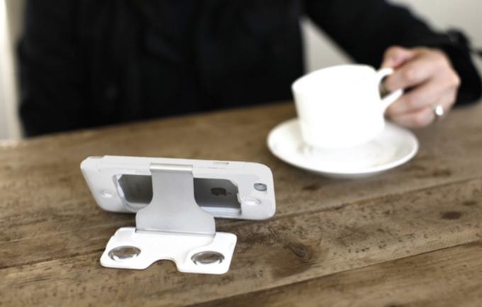 Чехол для смартфона, который раскладывается в гарнитуру VR - 5