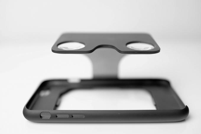 Чехол для смартфона, который раскладывается в гарнитуру VR - 1