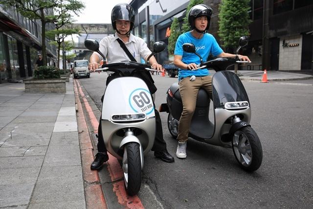 Электроскутеры Gogoro станут доступны жителям Амстердама