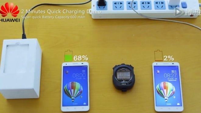 Компания Huawei представила собственную разработку в области быстрой зарядки аккумуляторов мобильных устройств