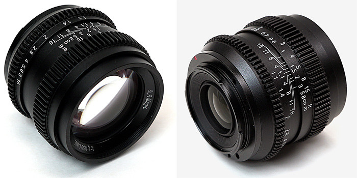 Продажи SLR Magic Cine 50mm F1.1 начнутся в декабре