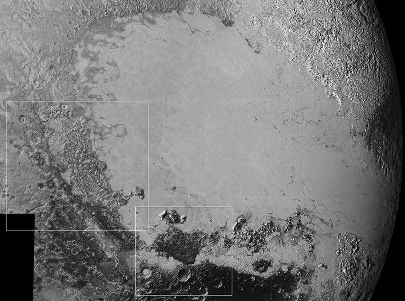 «Сердце» Плутона, на самом деле — ударный кратер - 2