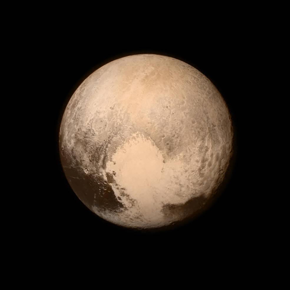 «Сердце» Плутона, на самом деле — ударный кратер - 1