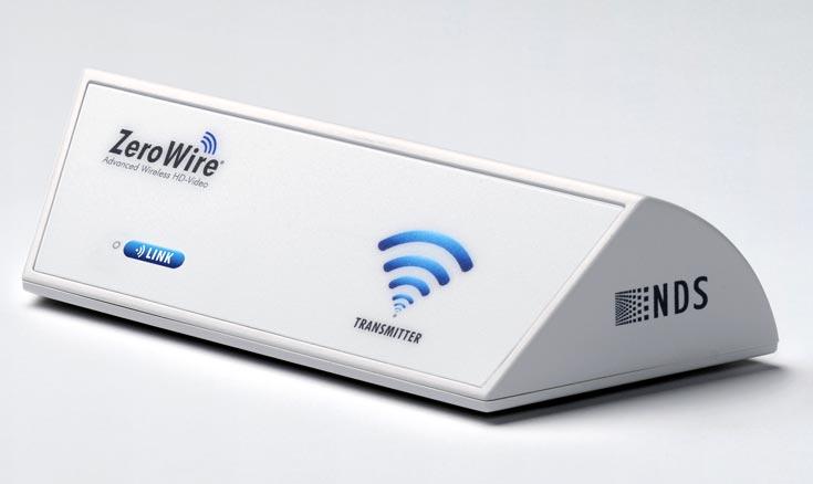 Система NDS ZeroWire G2 включает приемник и передатчик