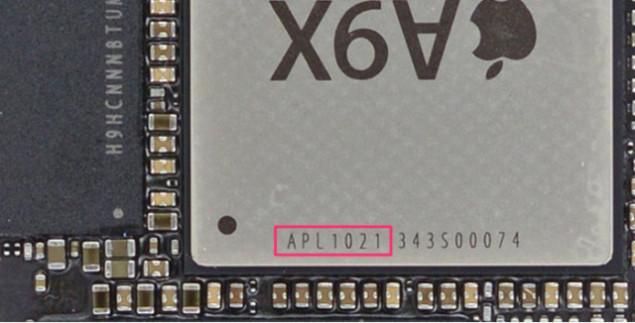 Платформы Apple A9X производит только TSMC