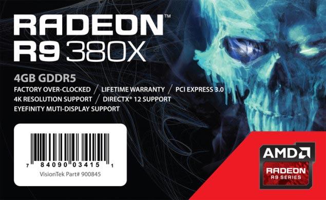 Рекомендованная цена 3D-карта AMD Radeon R9 380X названа равной $249