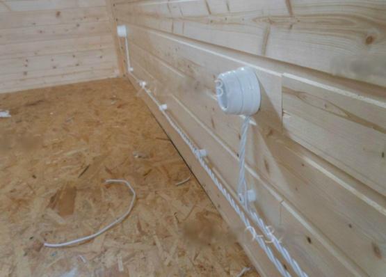 Беспроводные выключатели в деревянных домах - 11