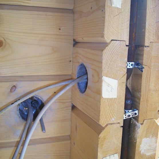 Беспроводные выключатели в деревянных домах - 2