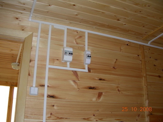 Беспроводные выключатели в деревянных домах - 5