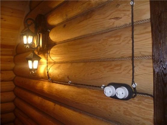Беспроводные выключатели в деревянных домах - 6