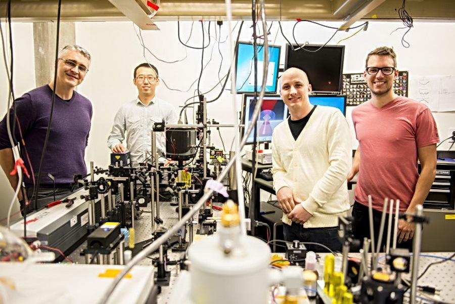 Физики Университета Вашингтона использовали лазер в качестве жидкостного охладителя - 1