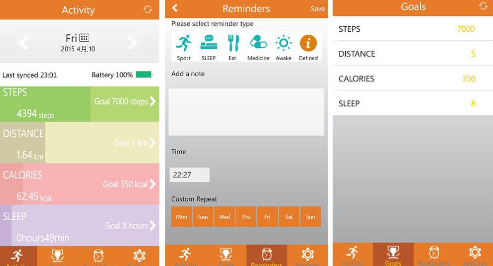 Как следить за калориями, если у вас Windows Phone — подборка популярных фитнес-браслетов - 3