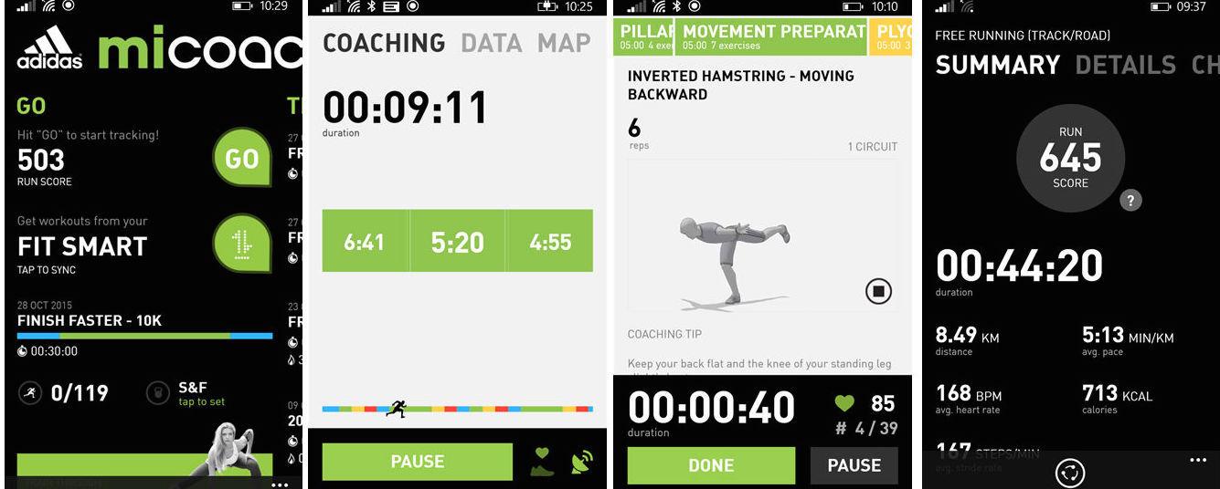 Как следить за калориями, если у вас Windows Phone — подборка популярных фитнес-браслетов - 5
