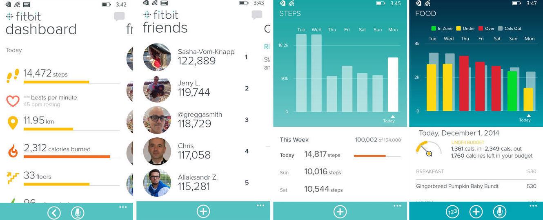 Как следить за калориями, если у вас Windows Phone — подборка популярных фитнес-браслетов - 7