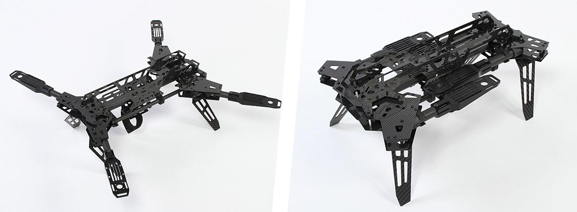 Коптер в рюкзаке — сборка по мотивам рамы Predator 650 - 2