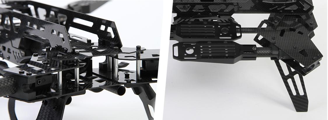 Коптер в рюкзаке — сборка по мотивам рамы Predator 650 - 3