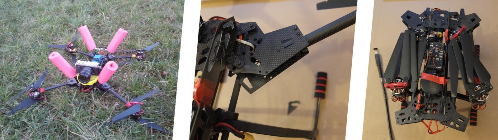Коптер в рюкзаке — сборка по мотивам рамы Predator 650 - 4