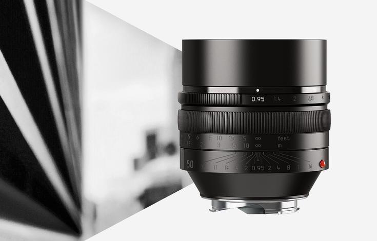 Leica Noctilux-M 50 mm f/0.95 ASPH — объектив и зажигалка