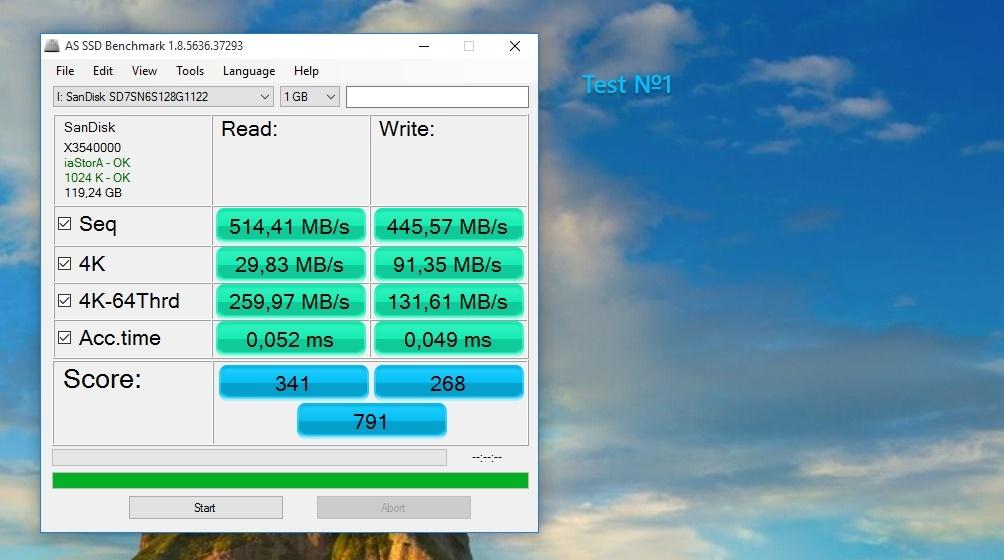 SSD M.2 – Реалии стандарта и обзор доступной модели Sandisk X300 - 14