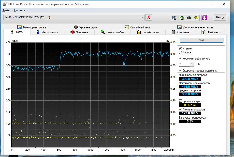 SSD M.2 – Реалии стандарта и обзор доступной модели Sandisk X300 - 15