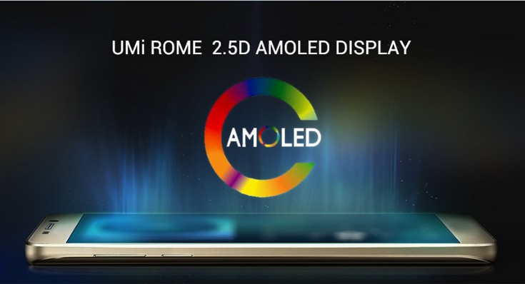 Смартфон Umi Rome стоит $90