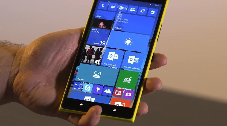 Анонсирован новый билд для мобильной Windows - 1