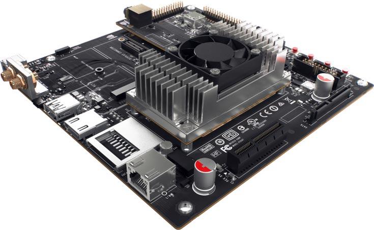 Модуль Nvidia Jetson TX1 используется в стереоскопической камере Stereolabs ZED с функций 3D SLAM