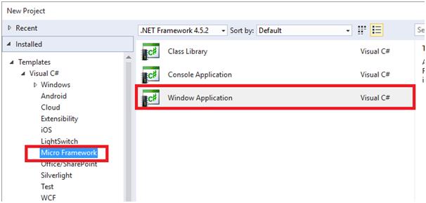 Начало работы с .NET Micro Framework 4.4 - 10