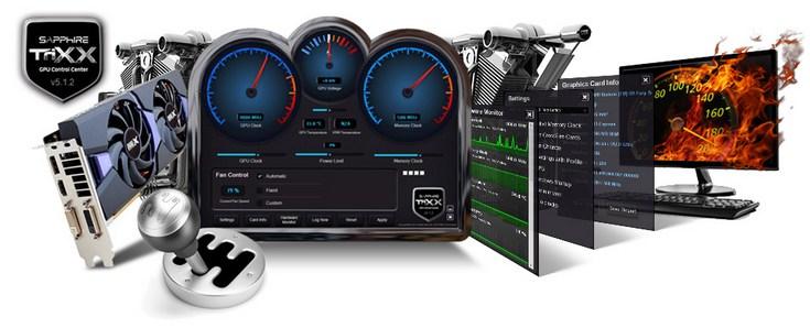 Sapphire выпустила новую версию ПО TriXX Utility