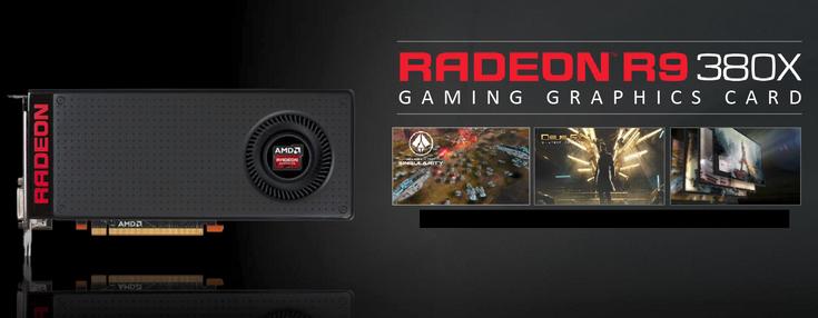 3D-карта AMD Radeon R9 380X оценивается в $230