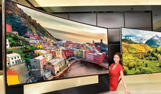 Телевизоры Samsung и LG с новой светодиодной технологией появятся в следующем году