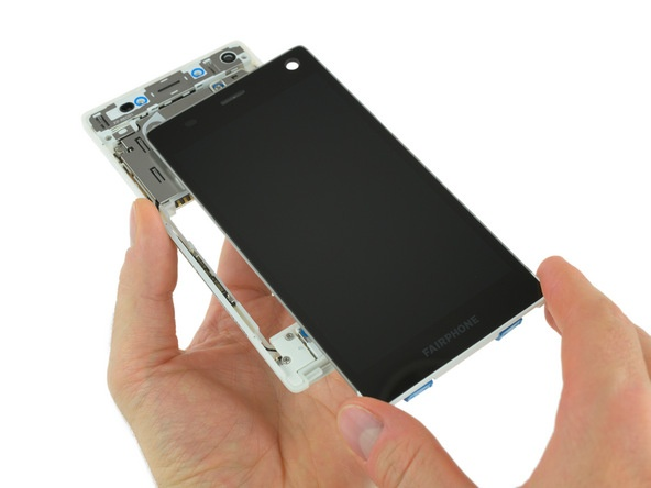 Смартфон Fairphone 2 заработал у iFixit 10 баллов