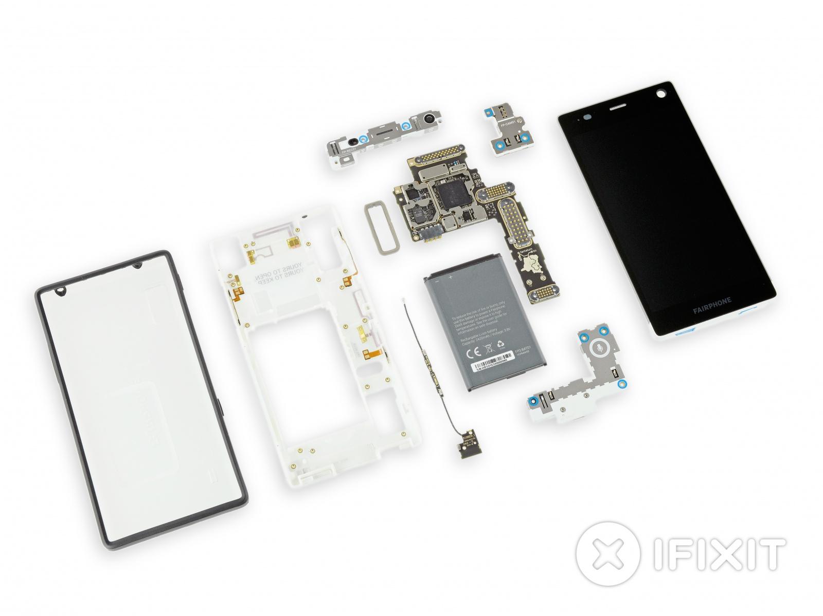 10 из 10 по шкале ремонтируемости: оценка модульного телефона Fairphone 2 от iFixit - 21