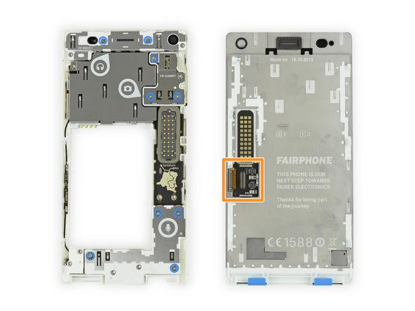 10 из 10 по шкале ремонтируемости: оценка модульного телефона Fairphone 2 от iFixit - 9