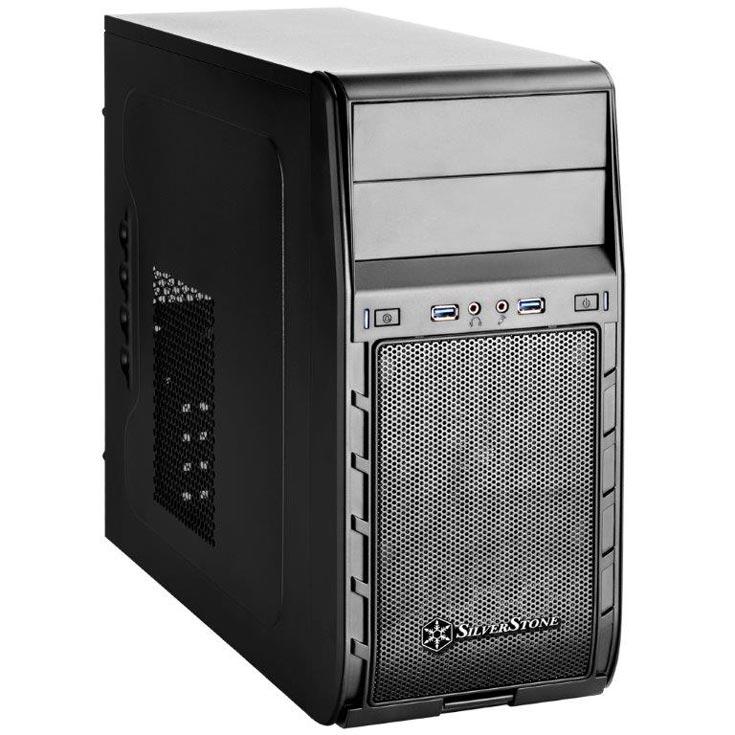 В компьютерном корпусе SilverStone Precision PS12 блок питания размещается сверху