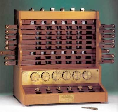 Первое в мире счетное устройство — машина Шиккарда - 9