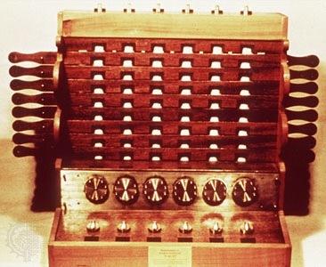 Первое в мире счетное устройство — машина Шиккарда - 1