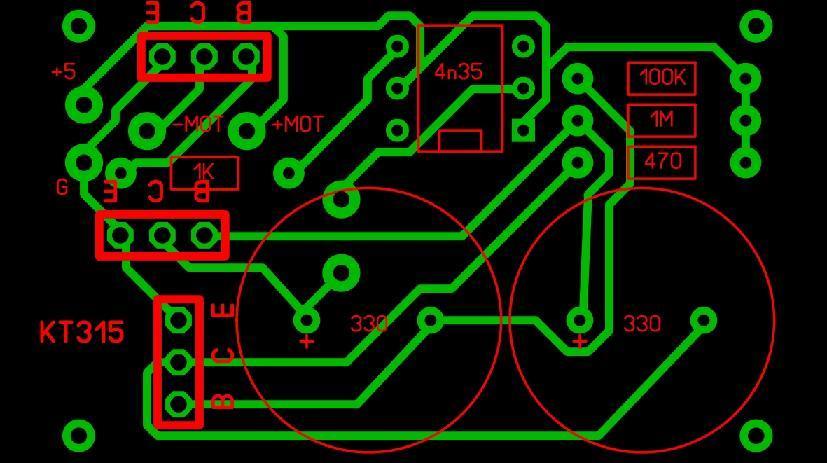 Виброускоритель травления плат или куда деть npn-транзисторы - 4