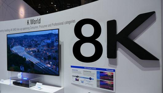 Корейские производители прогнозируют устойчивый спрос на телевизионные панели 8K в 2018 году