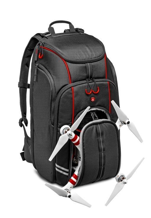 В Великобритании рюкзак Manfrotto Aviator D1 Drone Backpack стоит 159 фунтов стерлингов