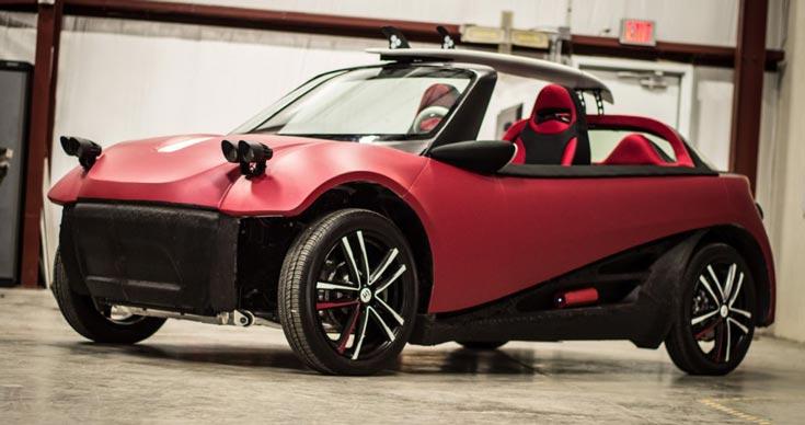 Отгрузку первых электромобилей, напечатанных на 3D-принтере, Local Motors планирует начать через год