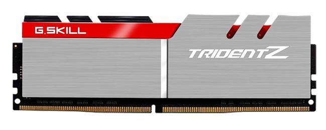 В набор G.Skill Trident Z DDR4-4133 входит два модуля памяти объемом по 8 ГБ