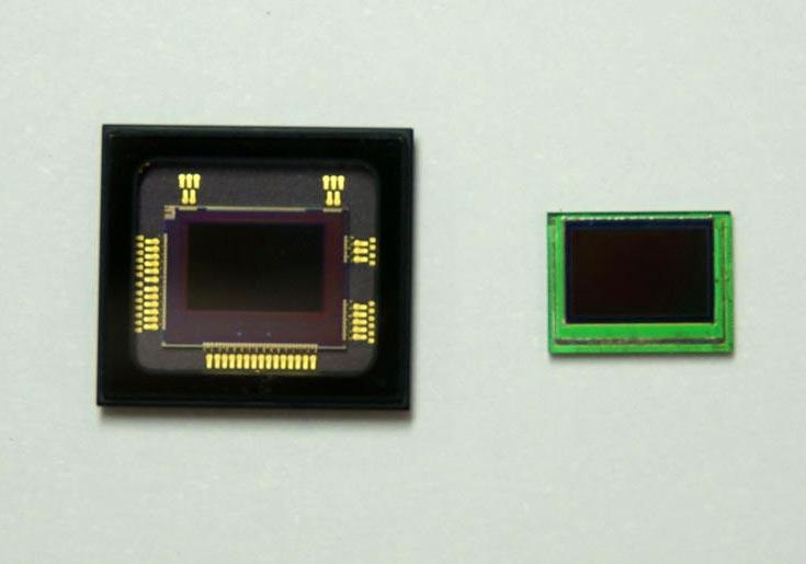 Датчик изображения Sony IMX323LQN имеет разрешение 2,19 Мп