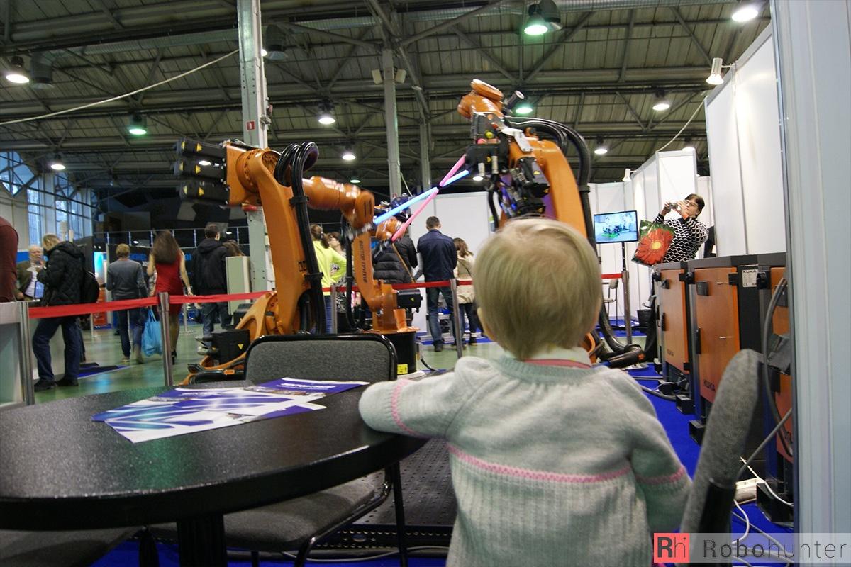 Обзор третьей международной выставки Robotics Expo 2015 в Москве - 2