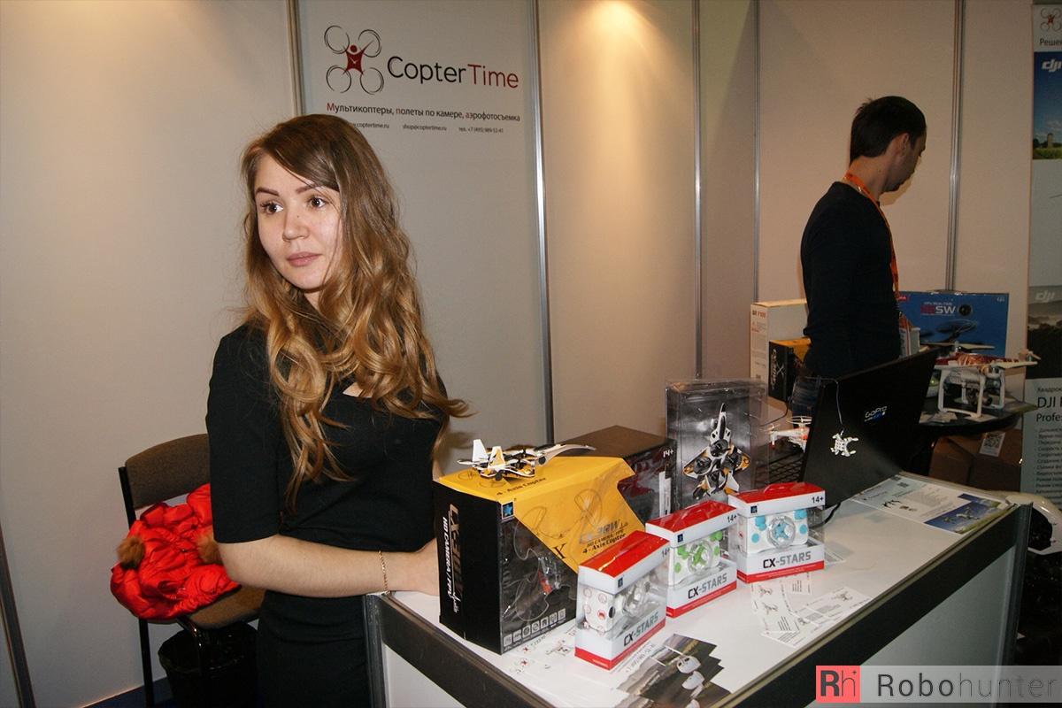 Обзор третьей международной выставки Robotics Expo 2015 в Москве - 28